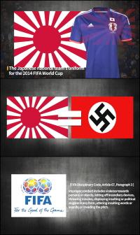 2018 러시아 월드컵 개막일에 맞춰 전 세계에 홍보 중인 '전범기 응원 퇴치' 영어 영상의 주요 장면. 사진/서경덕 교수