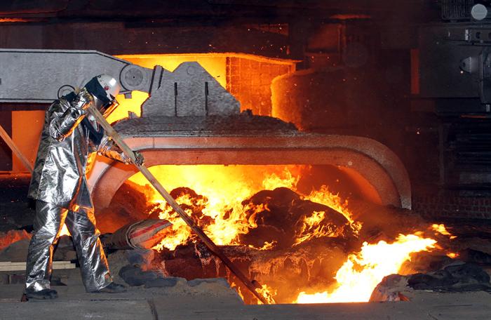 제철소 근로자, 사진/뉴시스