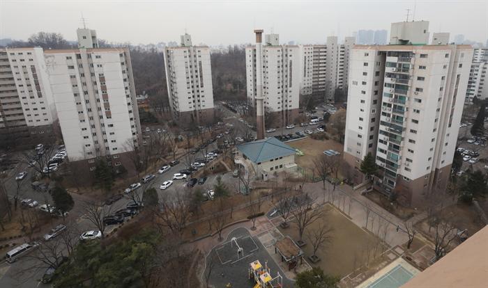 서울시 송파구에 위치한 아파트 전경. 사진/뉴시스