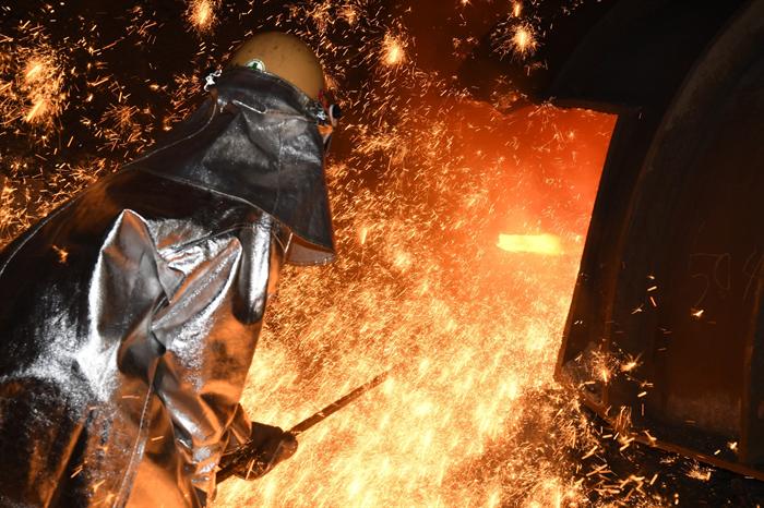 포스코 광양제철소 근로자. 사진/뉴시스