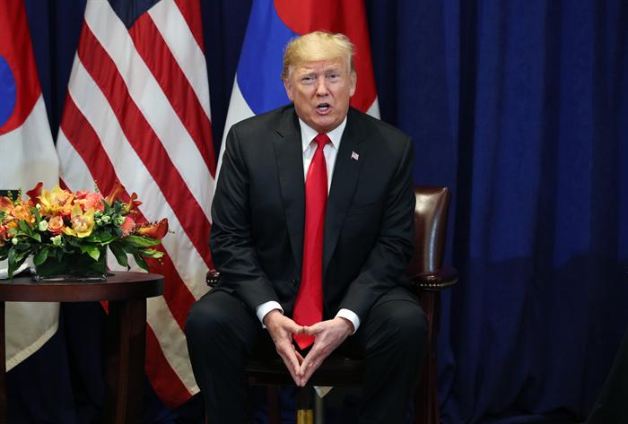 미국 트럼프 대통령. 사진/ 뉴시스