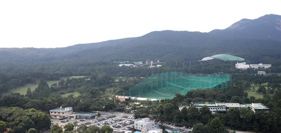 지난달 16일 태릉골프장 전경. 사진/뉴시스